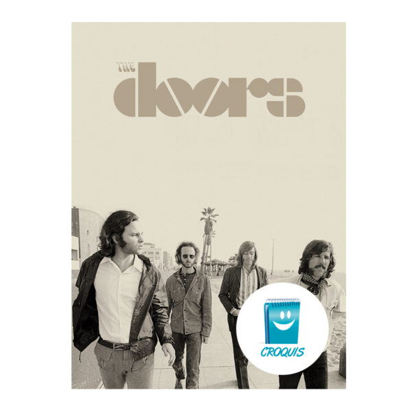 poster the doors, the doors chile, descargar poster the doors, descargar the doors, the doors chile, croquis, croquis.cl