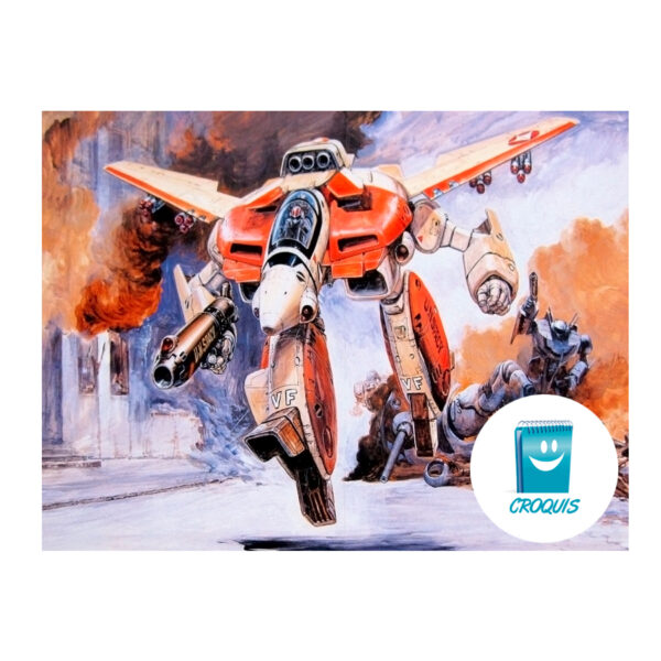robotech, poster robotech, descargar poster robotech