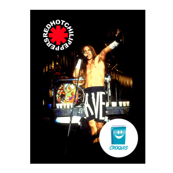 red hot chili peppers, descargar poster red hot chili peppers, anthony kiedis, descargar poster anthony kiedis