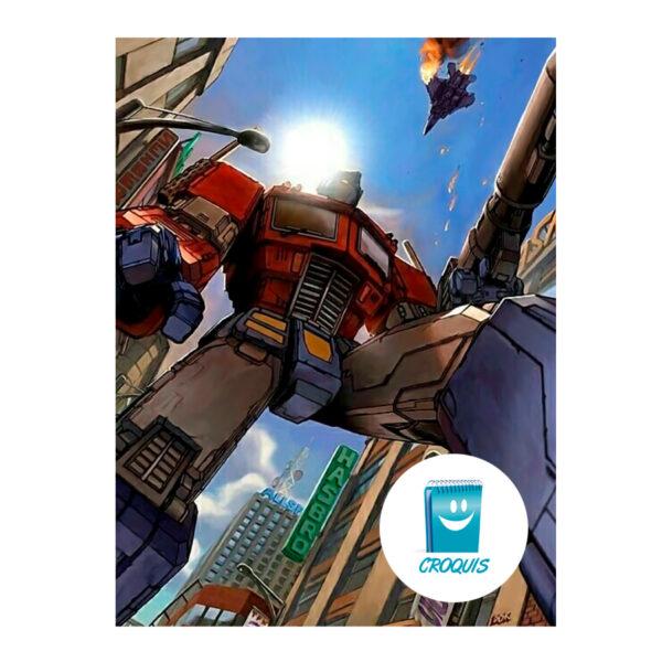optimus prime, poster optimus prime, descargar optimus prime, psoter, poster chile, poster transformers